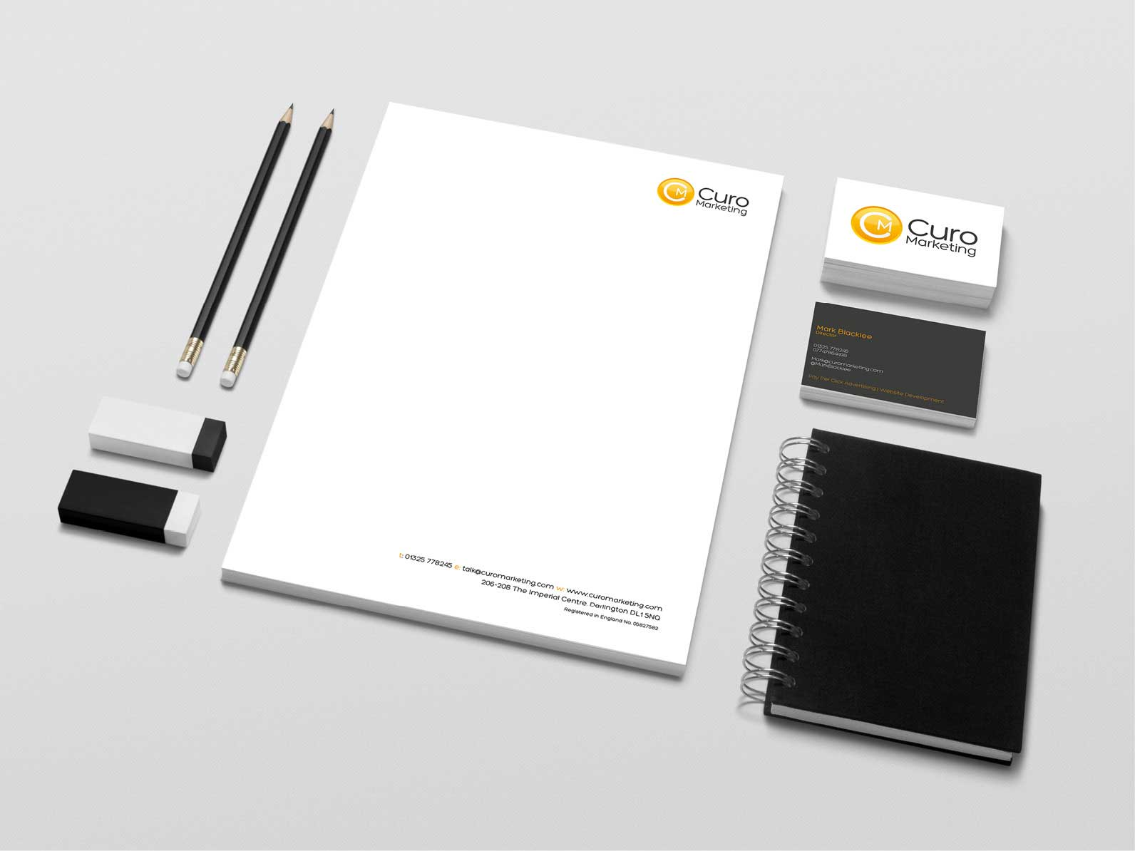 Curo-Marketing-Stationery-Design