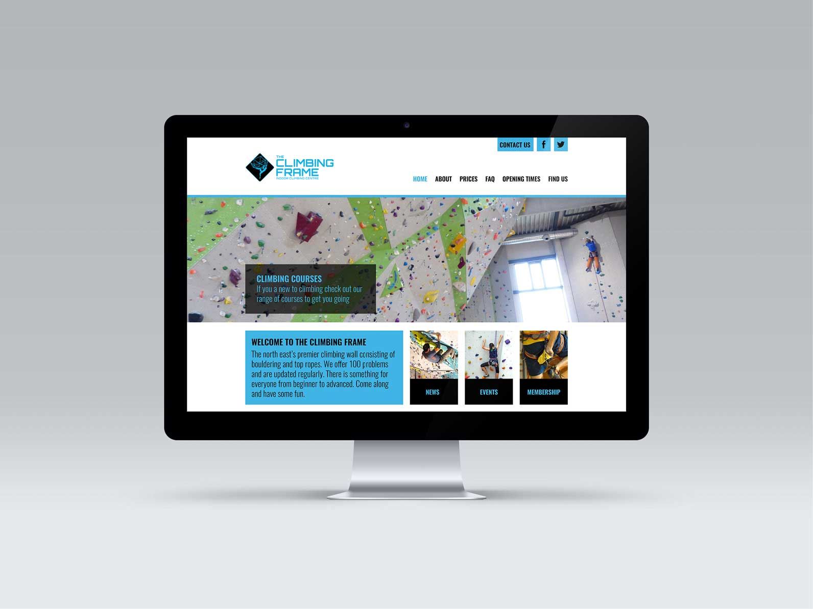 The-Climbing-Frame-Website-Design